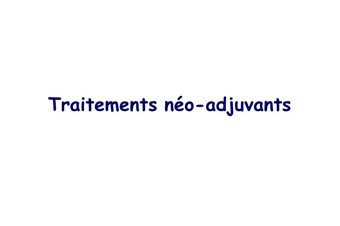 Traitements néo-adjuvants