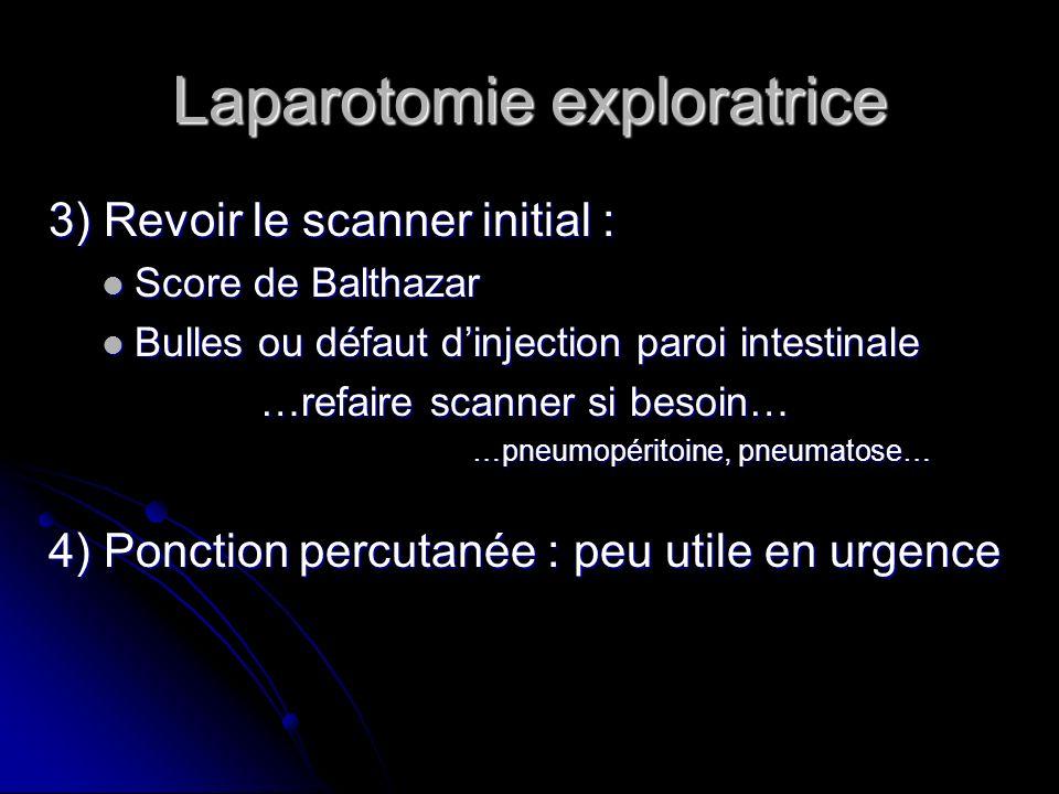 Laparotomie exploratrice