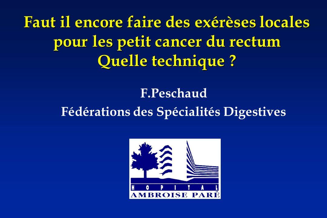 F.Peschaud Fédérations des Spécialités Digestives