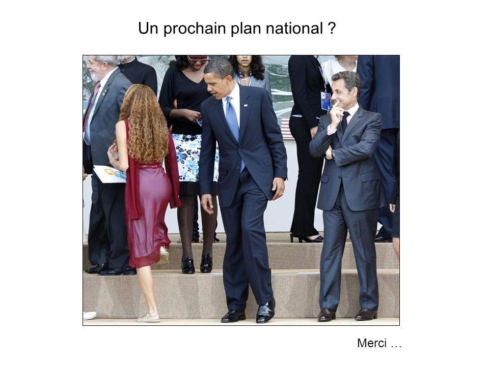 Un prochain plan national