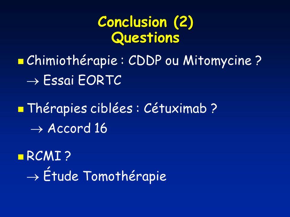 Conclusion (2) Questions