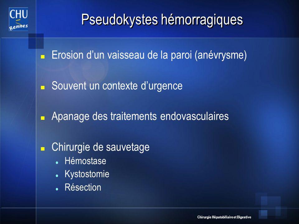 Pseudokystes hémorragiques