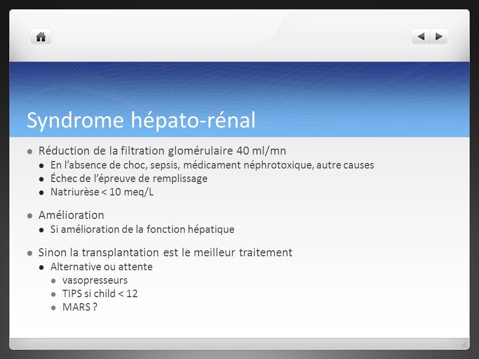 Syndrome hépato-rénal