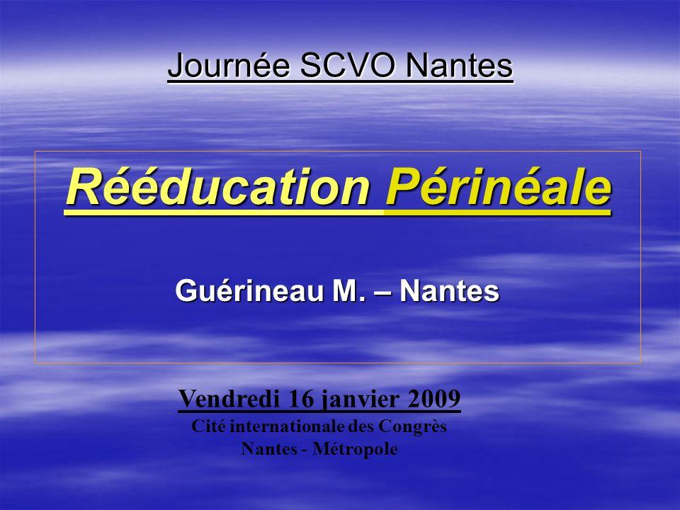 Rééducation Périnéale