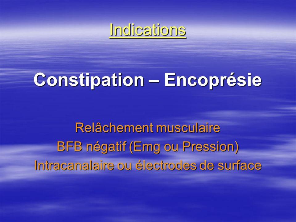 Constipation – Encoprésie