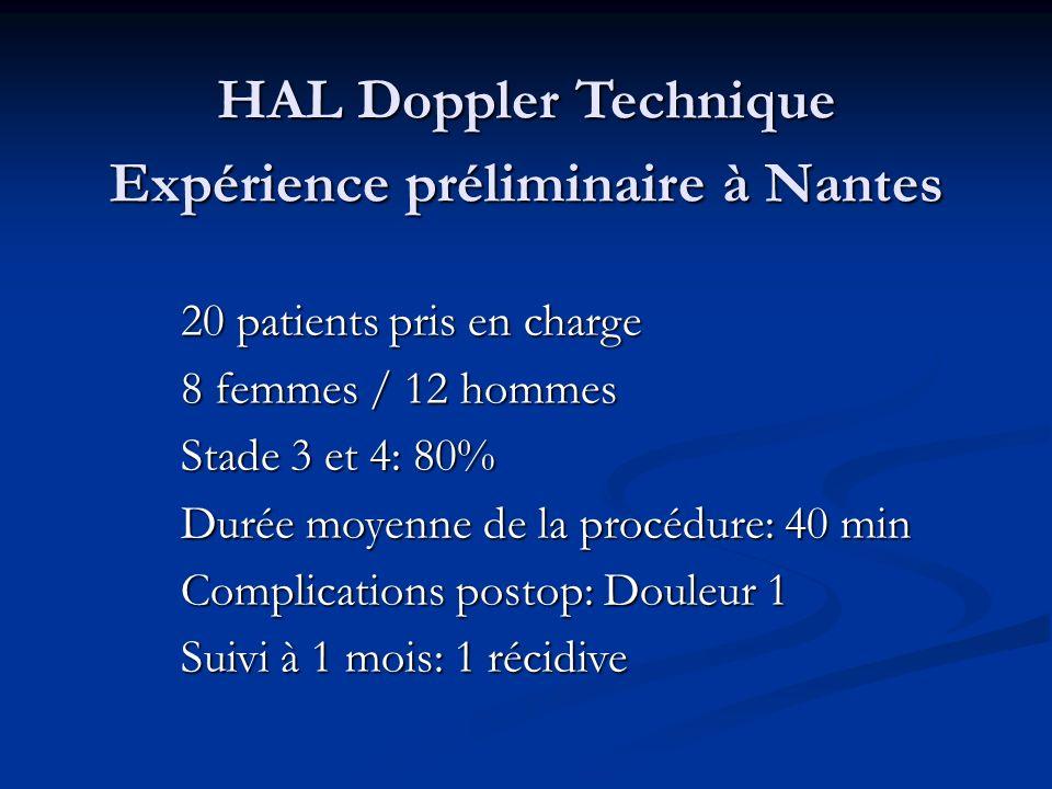 HAL Doppler Technique Expérience préliminaire à Nantes