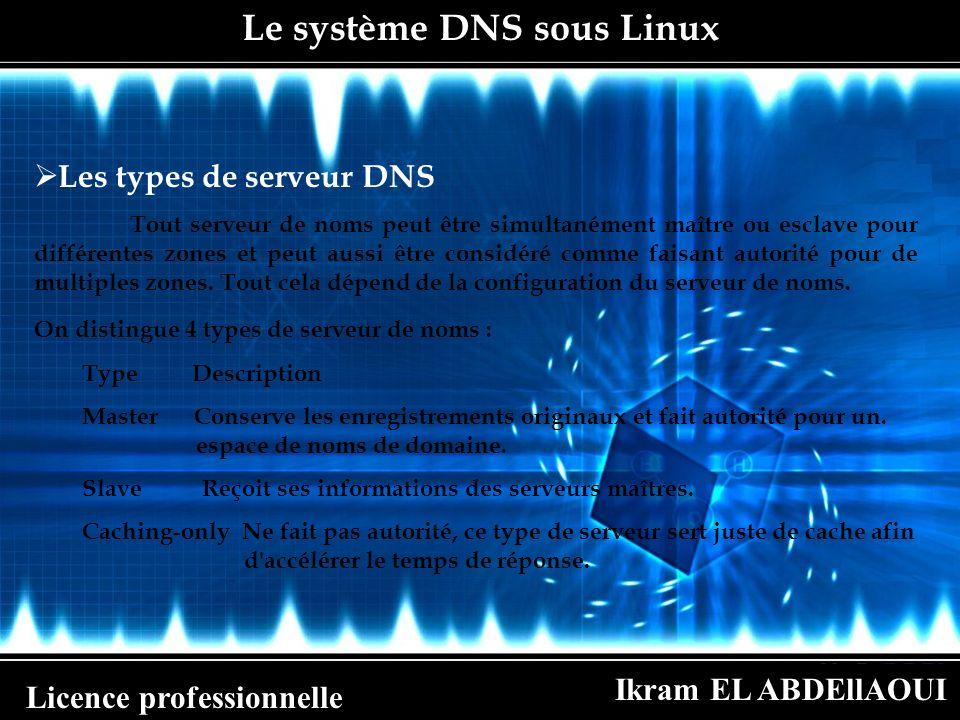 Le système DNS sous Linux