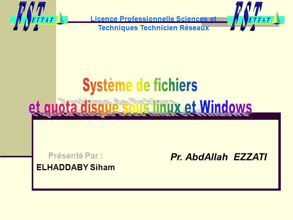 Licence Professionnelle Sciences et Techniques Technicien Réseaux