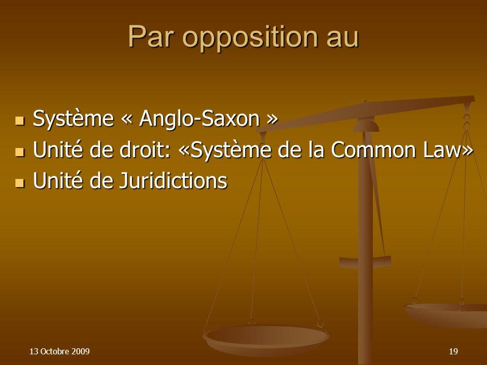 IL S'AGIT DE NORMES (REGLES) DE DROIT PUBLIC.