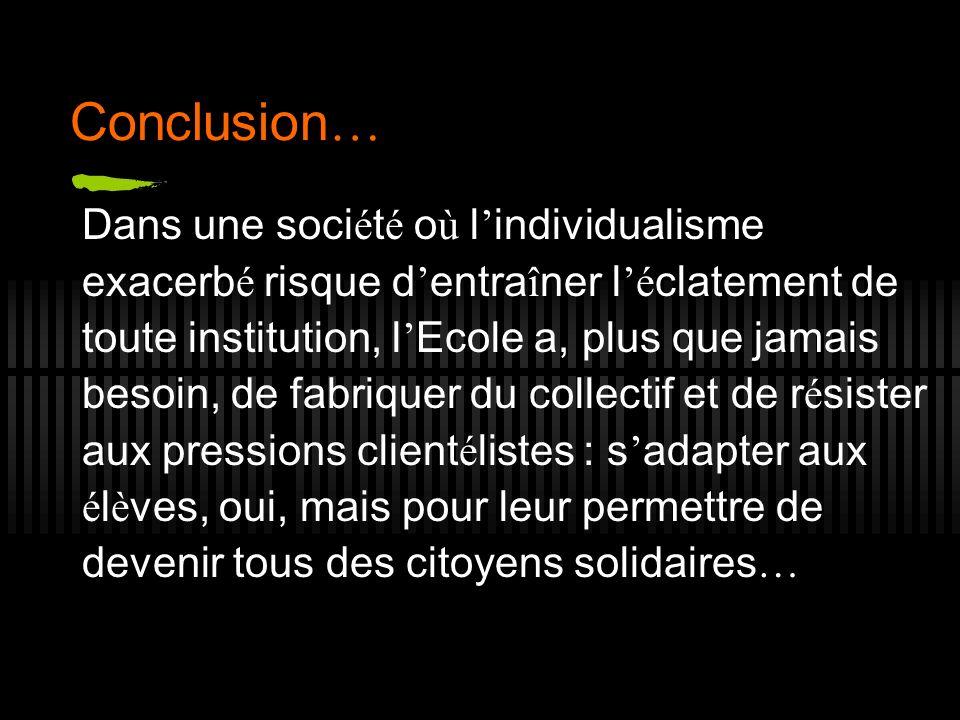 Conclusion…