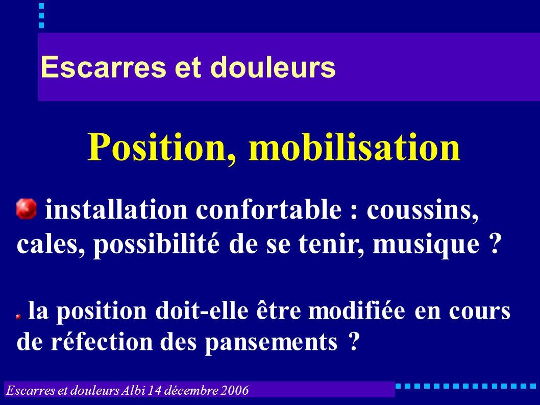 Position, mobilisation