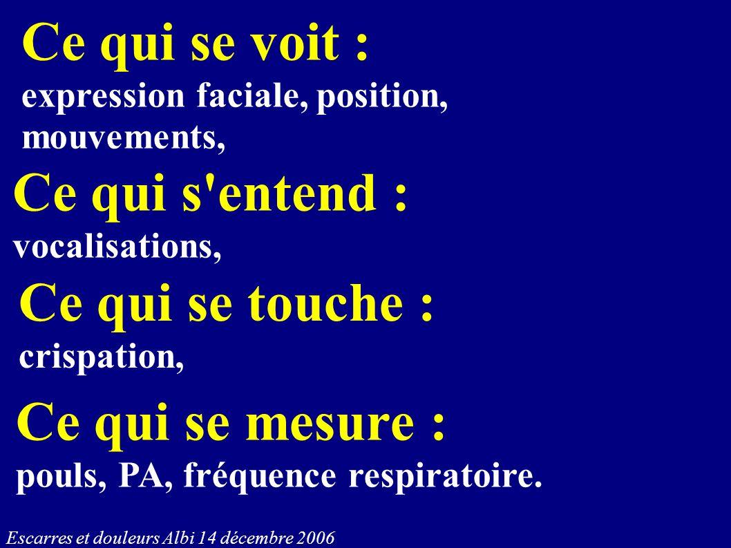 Ce qui s entend : vocalisations,