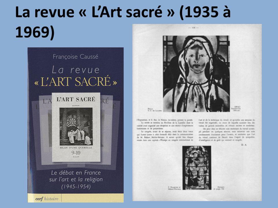 La revue « L'Art sacré » (1935 à 1969)