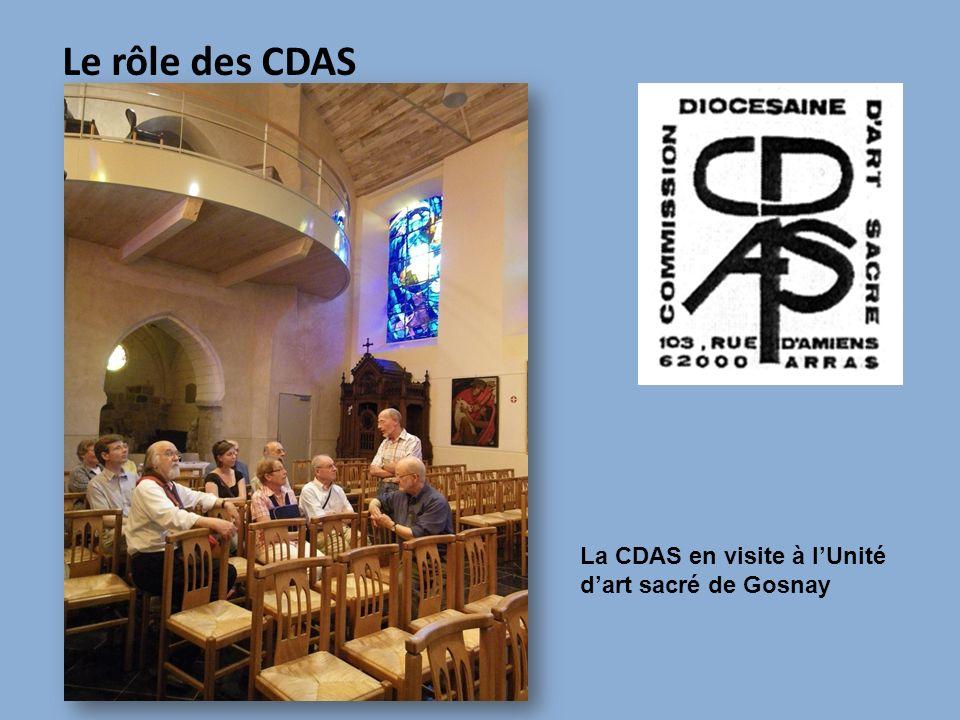 Le rôle des CDAS La CDAS en visite à l'Unité d'art sacré de Gosnay