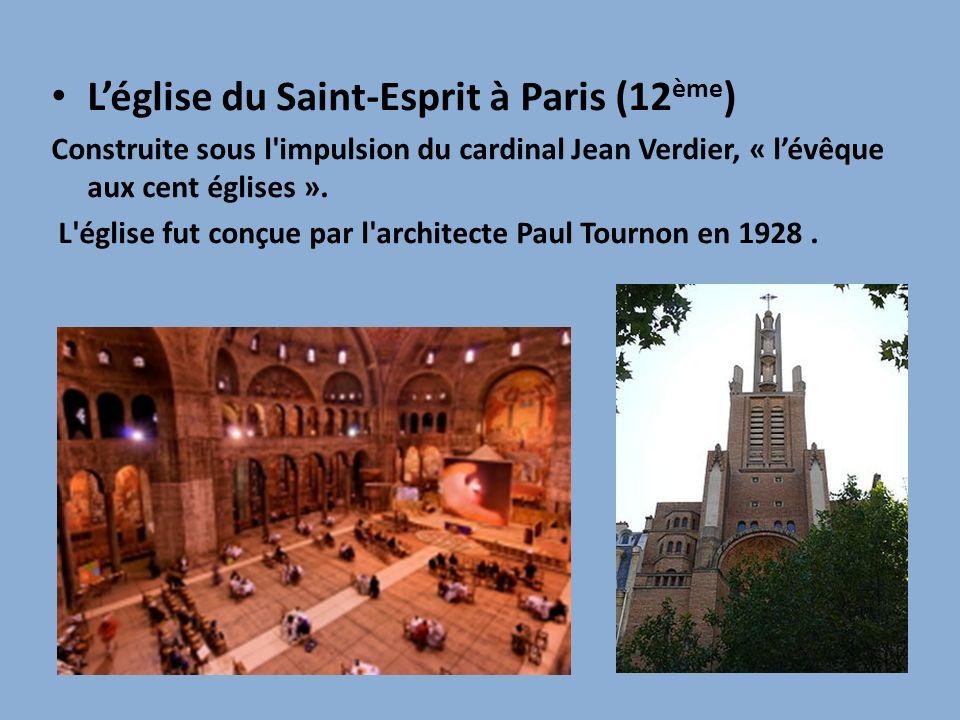 L'église du Saint-Esprit à Paris (12ème)