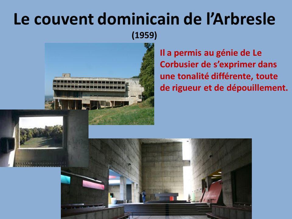 Le couvent dominicain de l'Arbresle (1959)