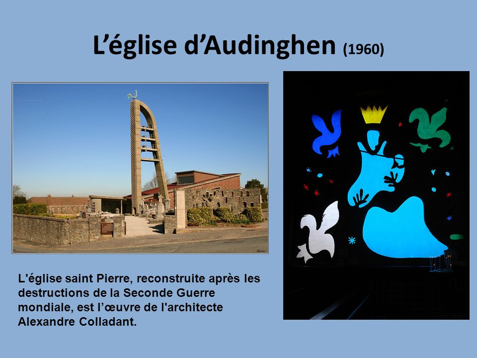 L'église d'Audinghen (1960)