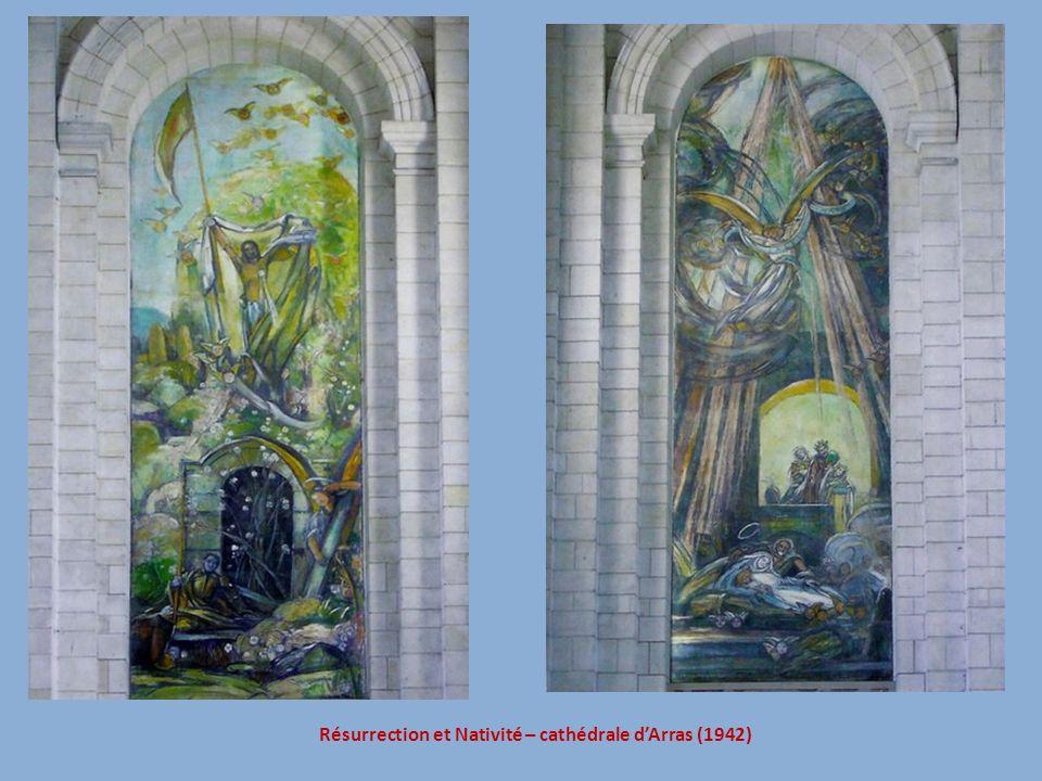 Résurrection et Nativité – cathédrale d'Arras (1942)