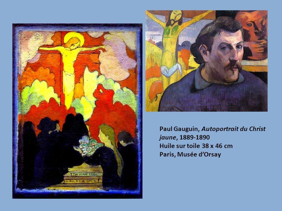 Paul Gauguin, Autoportrait du Christ jaune, 1889-1890