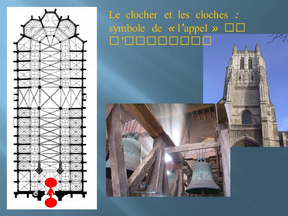 Le clocher et les cloches : symbole de « l'appel » de l'Evangile