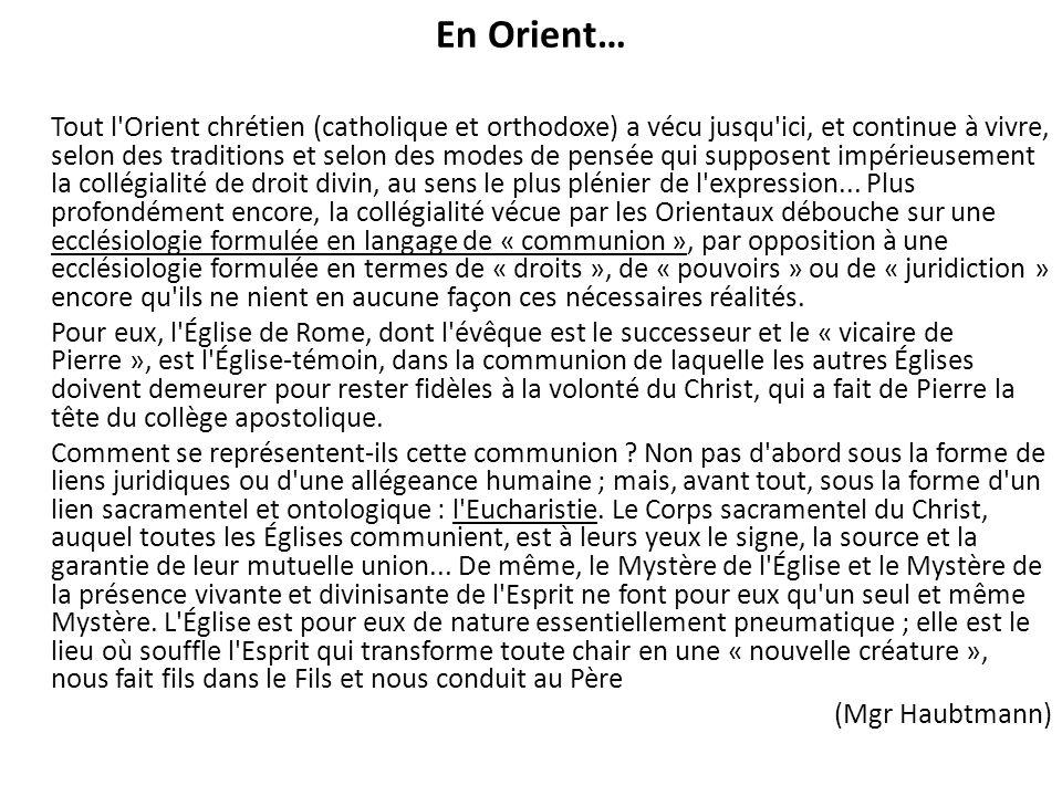 En Orient…