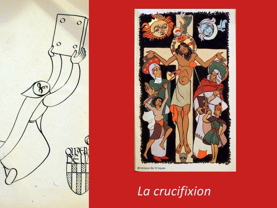 @Abbaye de Wisques La crucifixion