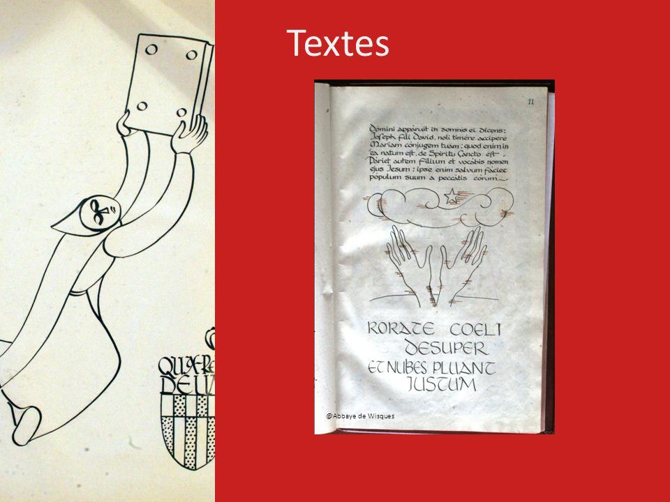 Textes @Abbaye de Wisques