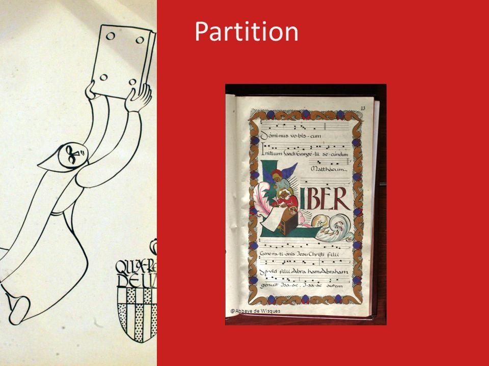 Partition @Abbaye de Wisques