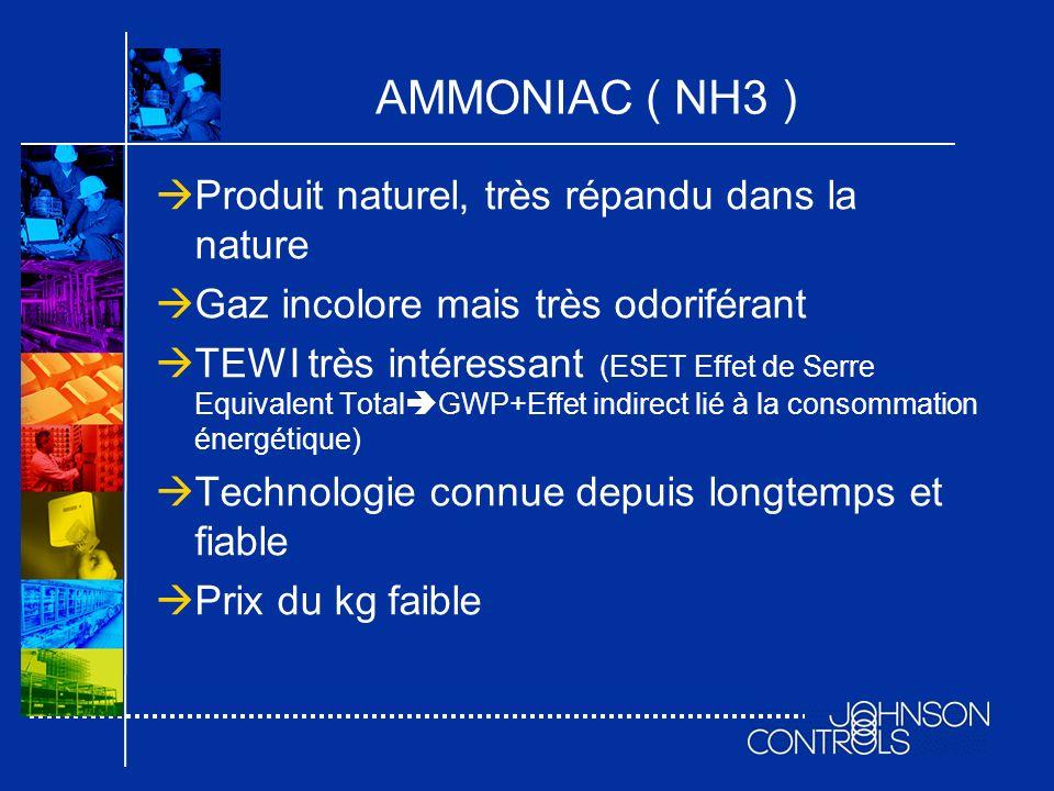 AMMONIAC ( NH3 ) Produit naturel, très répandu dans la nature