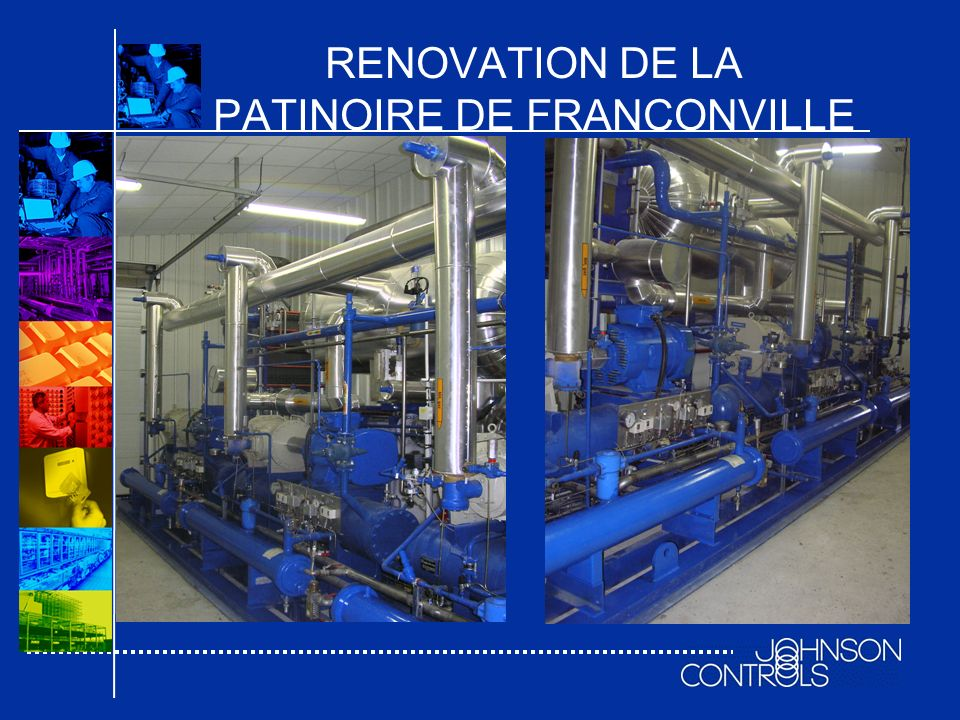 RENOVATION DE LA PATINOIRE DE FRANCONVILLE