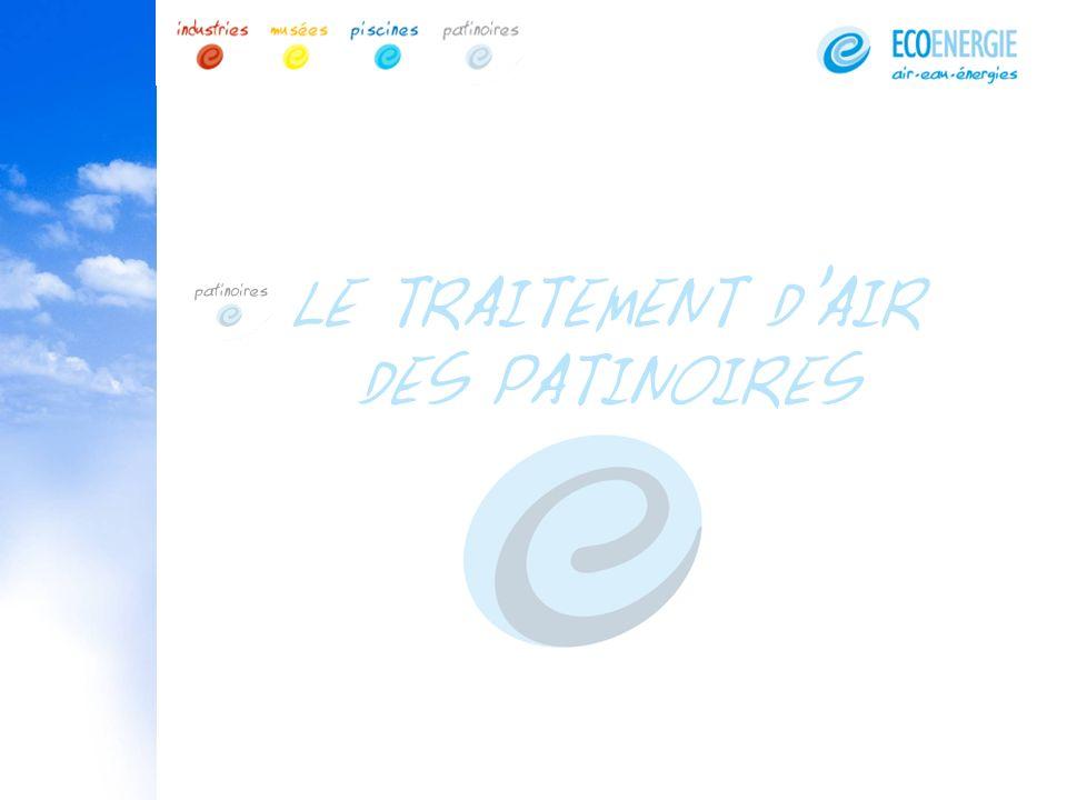 LE TRAITEMENT D'AIR DES PATINOIRES