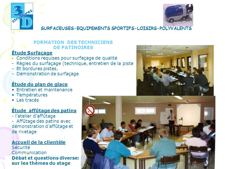 FORMATION DES TECHNICIENS