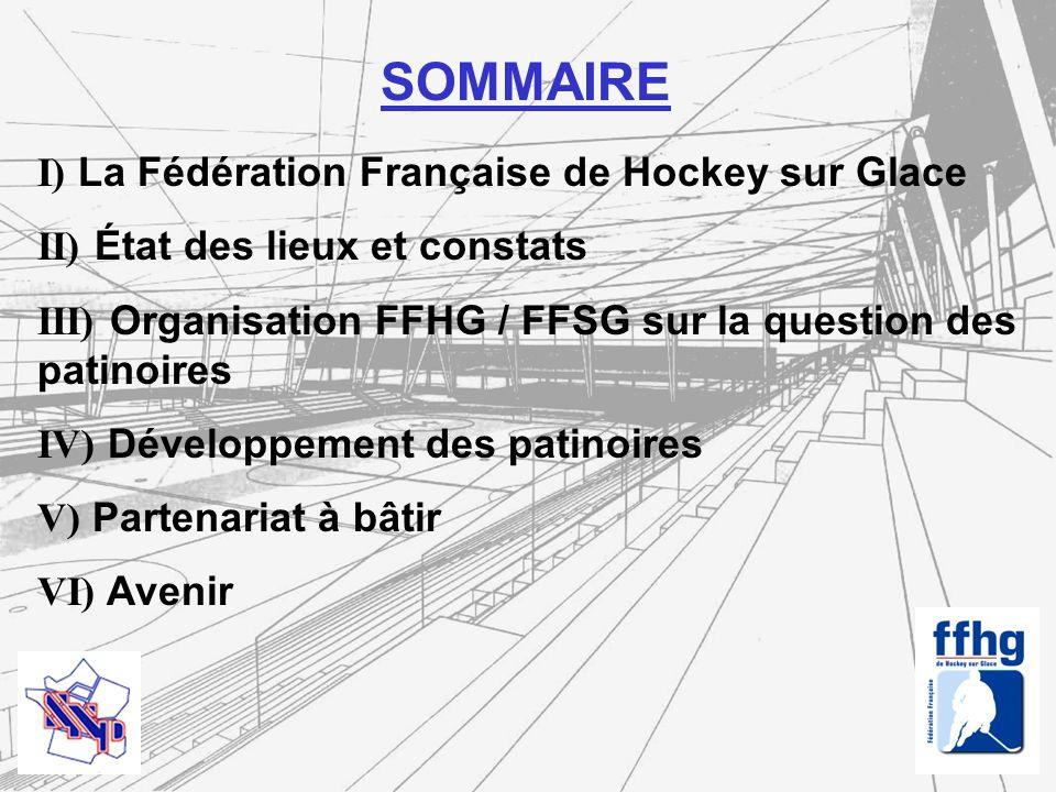 SOMMAIRE I) La Fédération Française de Hockey sur Glace