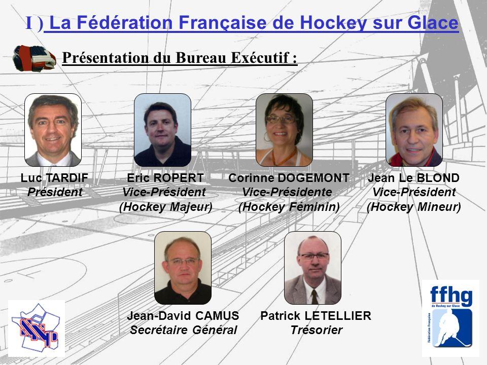 I ) La Fédération Française de Hockey sur Glace