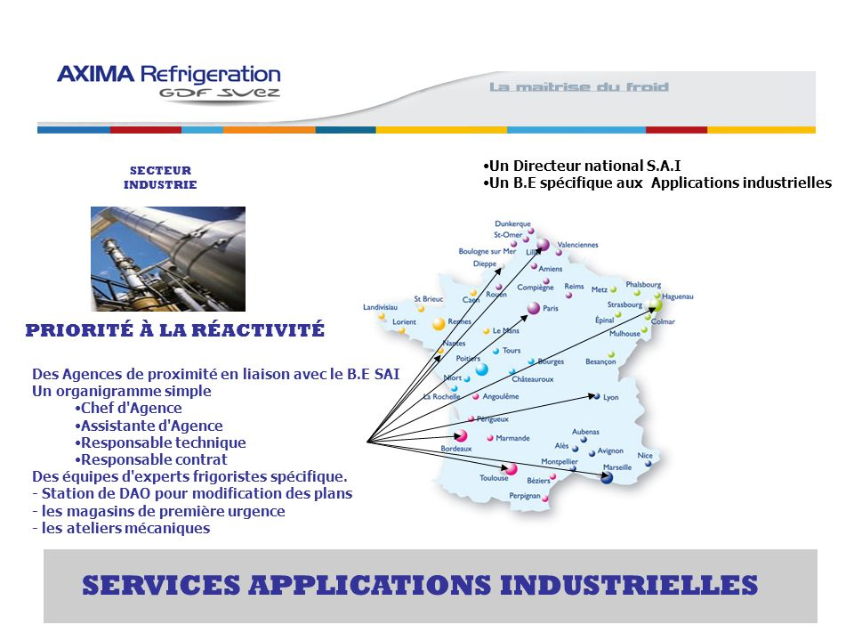 SERVICES APPLICATIONS INDUSTRIELLES