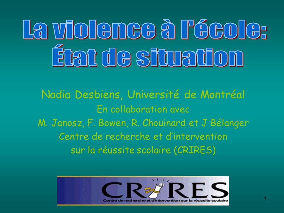Nadia Desbiens, Université de Montréal