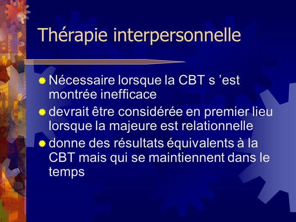 Thérapie interpersonnelle