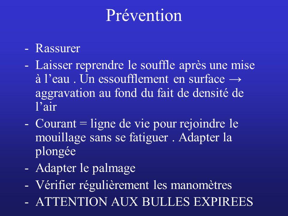 Prévention Rassurer.