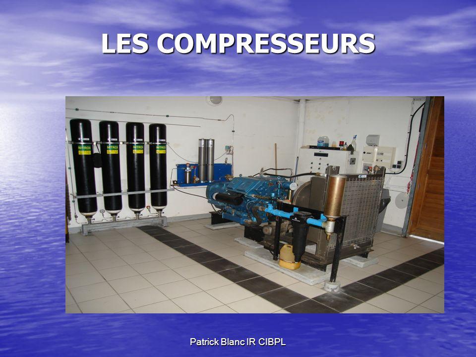 LES COMPRESSEURS Patrick Blanc IR CIBPL