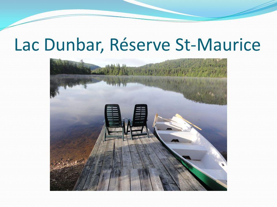 Lac Dunbar, Réserve St-Maurice