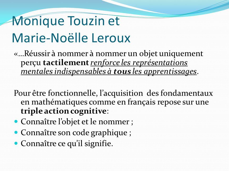Monique Touzin et Marie-Noëlle Leroux