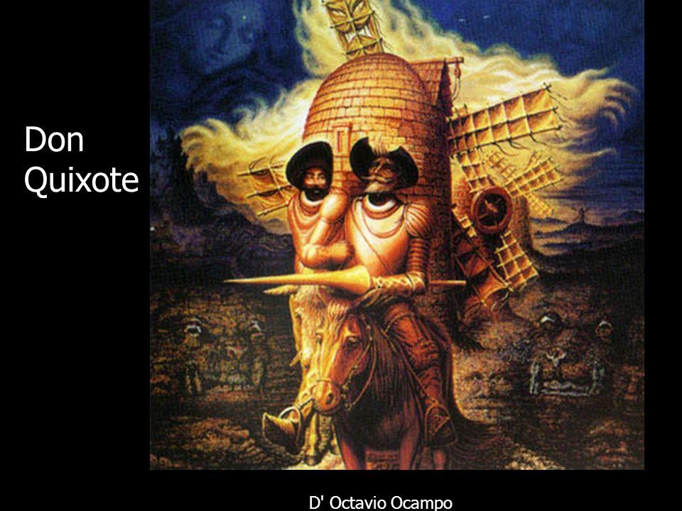 Don Quixote D Octavio Ocampo