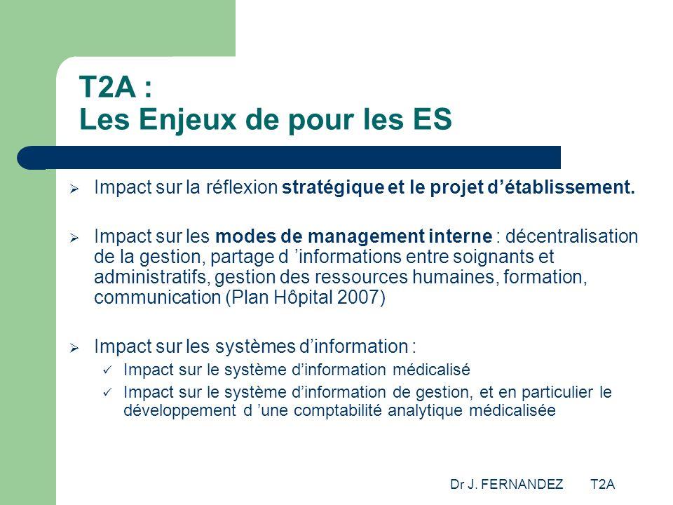 T2A : Les Enjeux de pour les ES