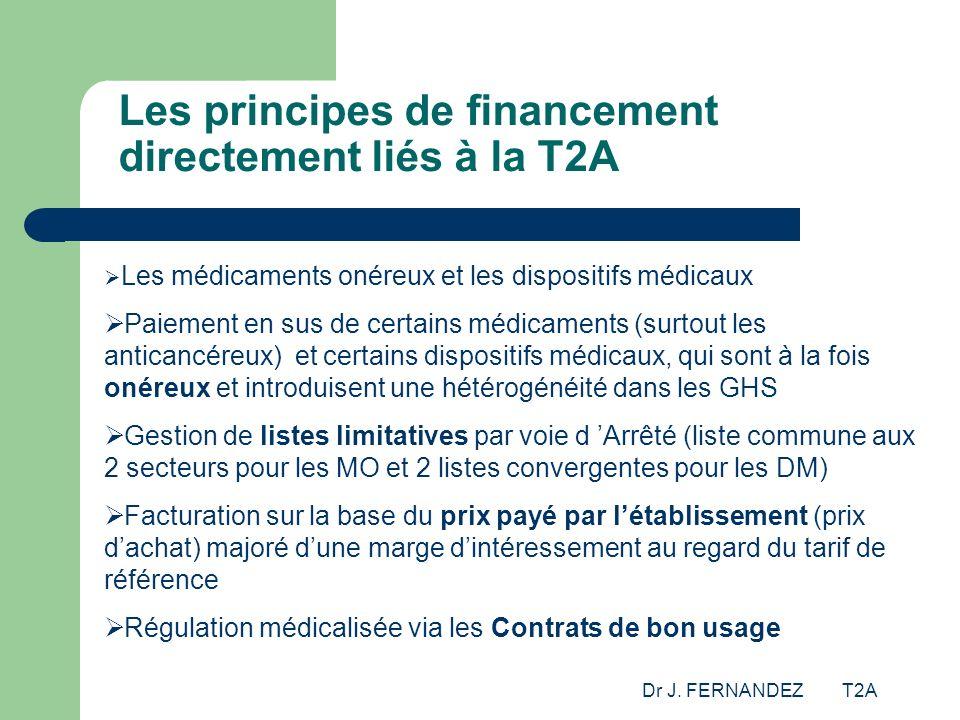 Les principes de financement directement liés à la T2A