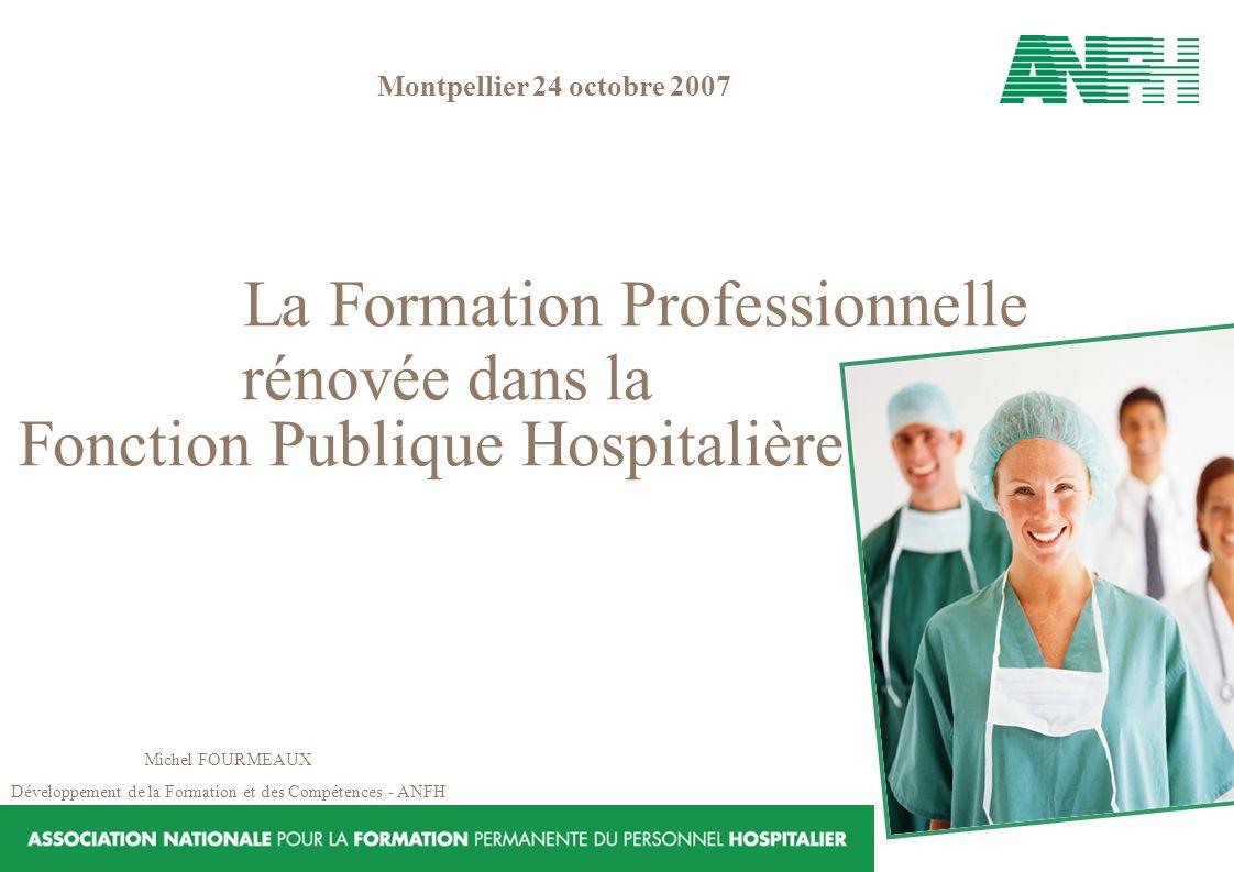 Fonction Publique Hospitalière La Formation Professionnelle