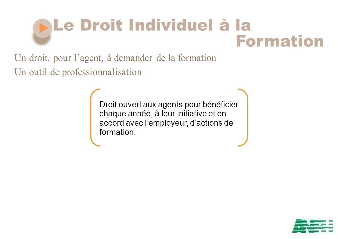 Le Droit Individuel à la Formation