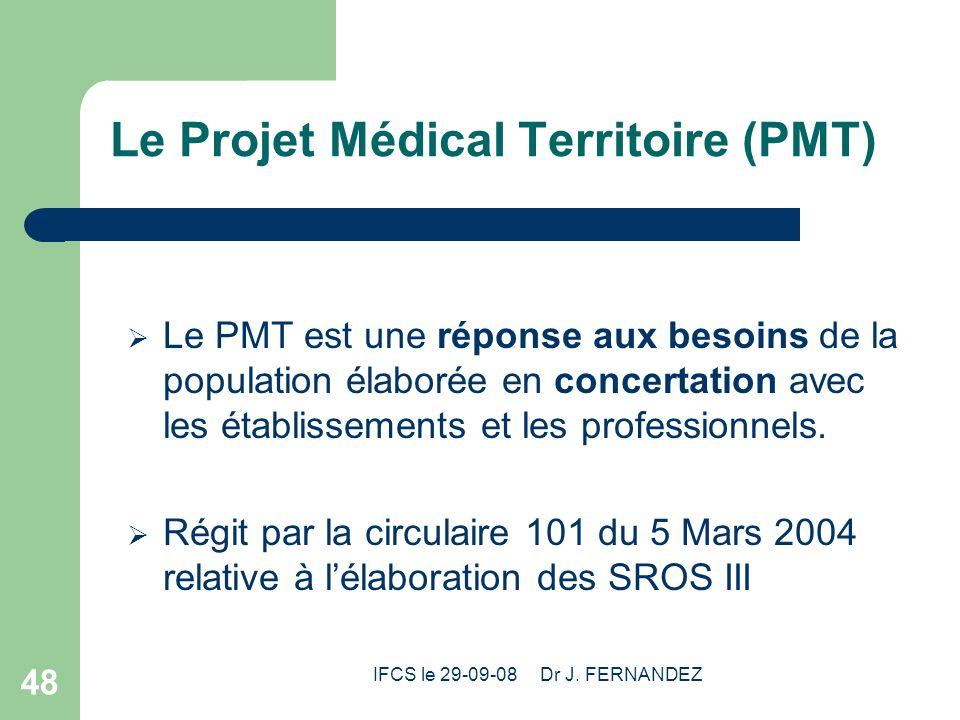 Le Projet Médical Territoire (PMT)