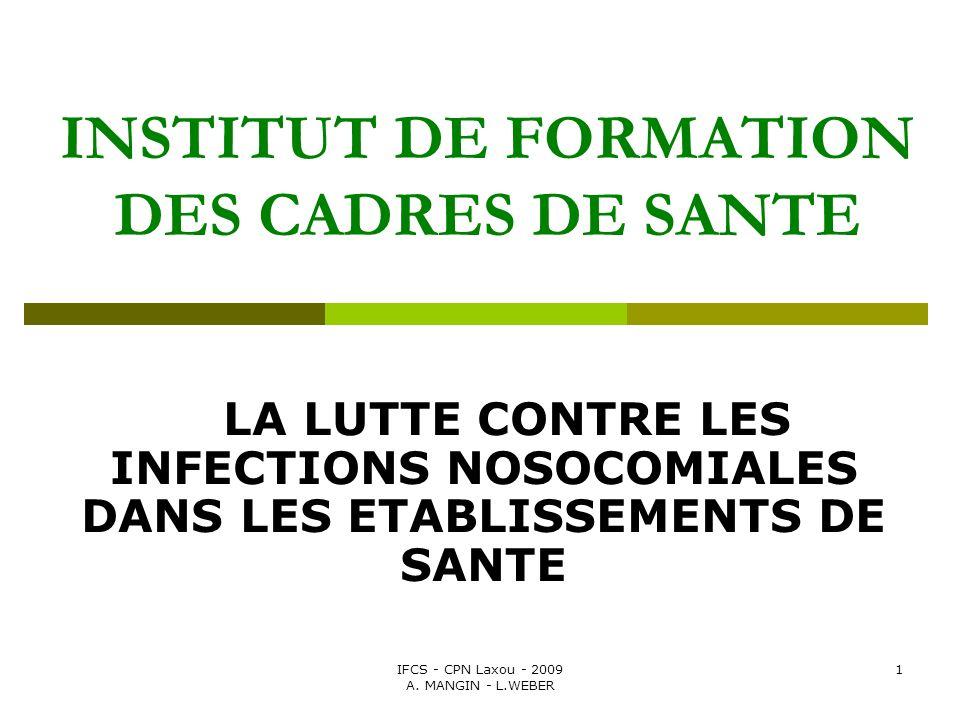 INSTITUT DE FORMATION DES CADRES DE SANTE