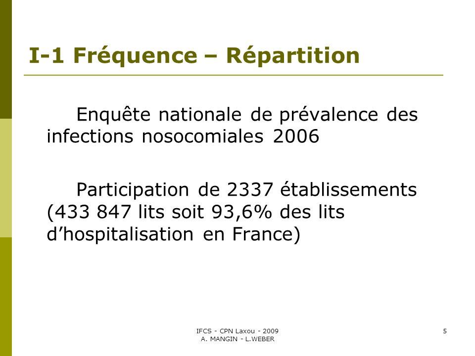 IFCS - CPN Laxou - 2009 A. MANGIN - L.WEBER