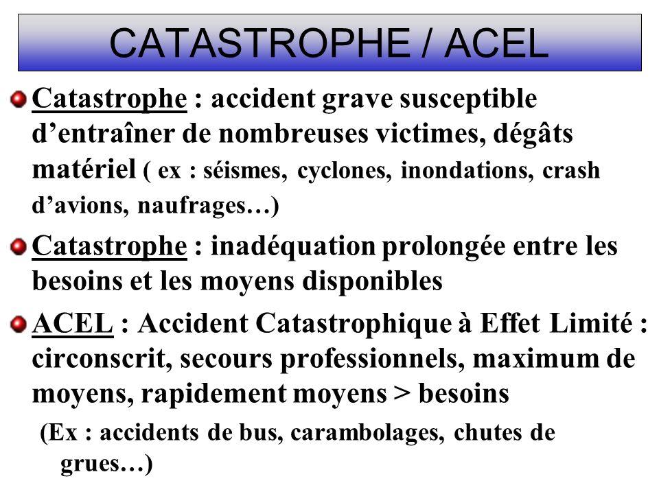 CATASTROPHE / ACEL